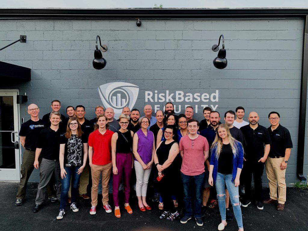 Risk Based Security team at the Clay Street location
